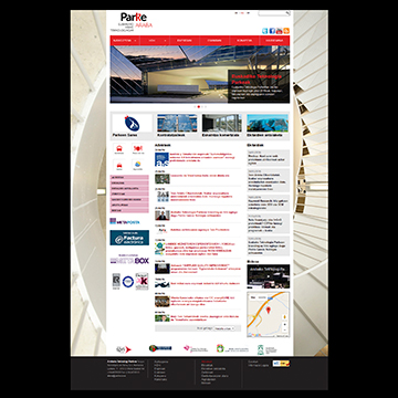 Parke – The websites of the Basque Technology Parks.
